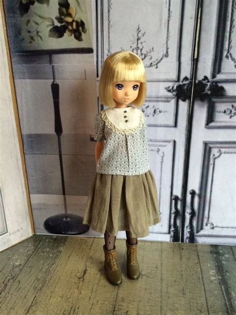 Blouse Moshi Moshi by Skirt And Blouse Set For Ruruko And Similar Dolls