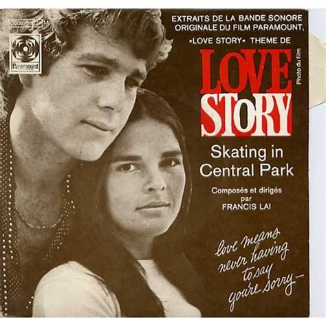 themes in love stories theme de love story skating in central park by francis