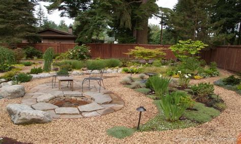 backyard gravel landscaping pond ideas designs pea gravel landscaping ideas pea