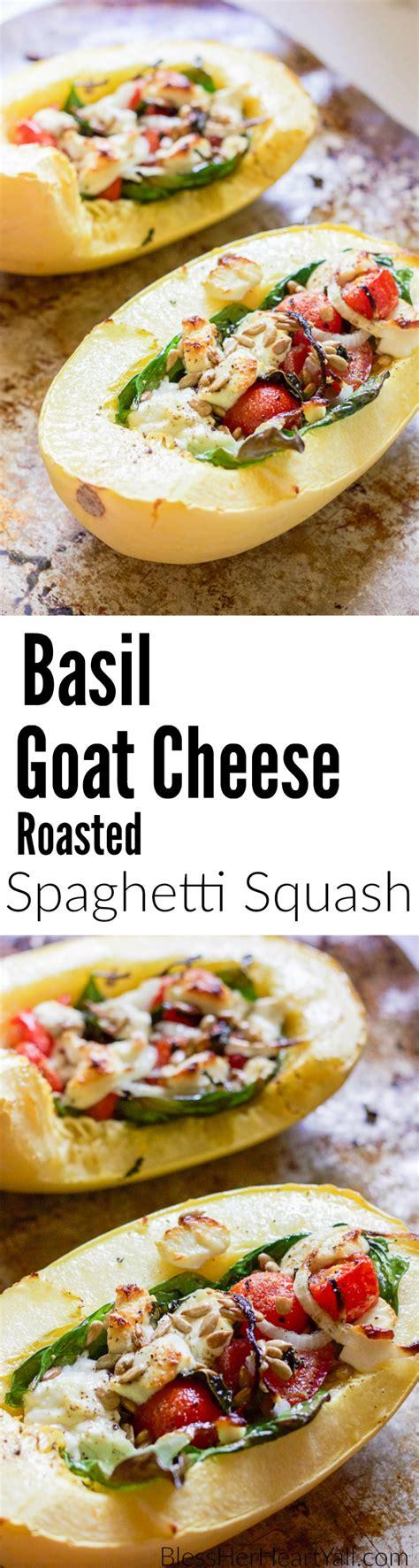 basil goat cheese spaghetti squash bless y all basil goat cheese spaghetti squash bless y all