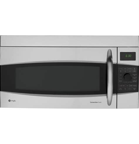 ge profile microwave ge profile 1 7 cu ft convection the range microwave oven pvm1790srss ge appliances