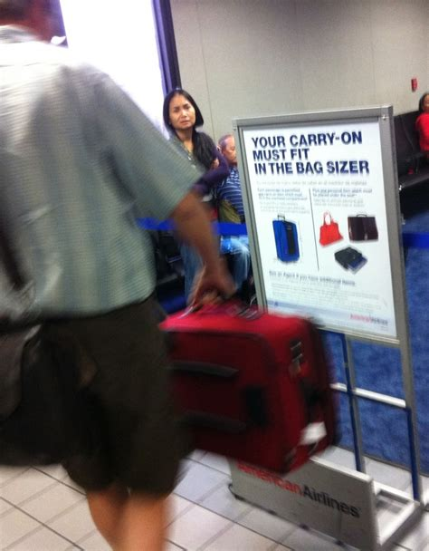 what is the allowed carry on bag and check in baggage rate are airlines going to measure your personal item bad