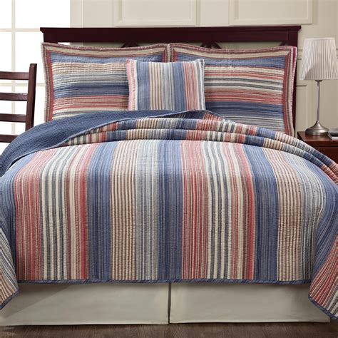 Cannon Quilt by Cannon Retro Chic Americana Quilt Home Bed Bath