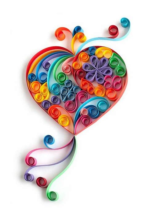 Paper Quilling Craft Ideas - 30 quilled s day craft projects and ideas family