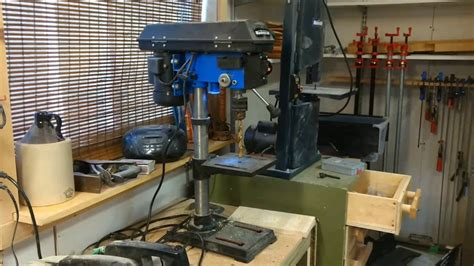 canadian tire bench press mastercraft canadian tire drill press wobble youtube