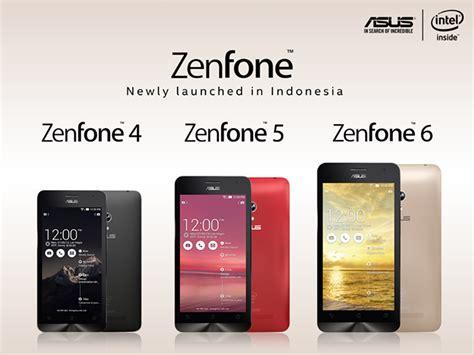 Harga Hp Merk Asus Zenfone 4 daftar harga asus zenfone 4 5 dan 6 terbaru bulan