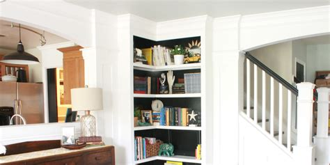 15 best ideas of built in bookcase kits