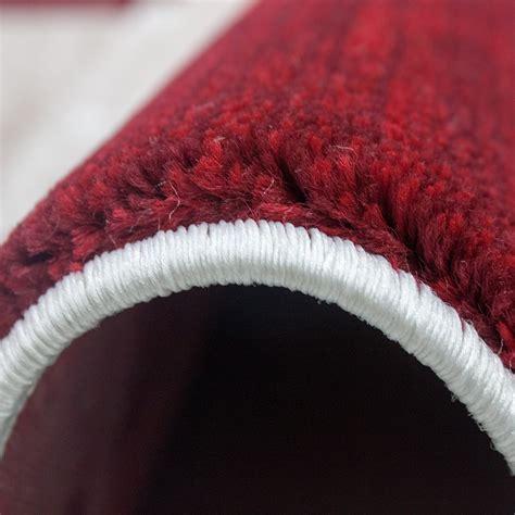 wein auf teppich vimoda teppich modern designer kariert meliert in wein rot