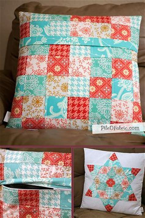How To Make A Quilted Pillow Sham by Adding A Zipper To A Quilted Pillow Sham Technique