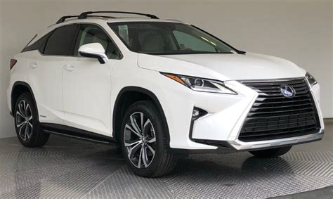 2019 Lexus Rx 450h by 2019 Lexus Rx 450h Awd Colors Release Date Redesign