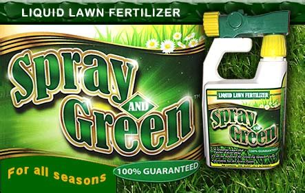 Sprei Green Spray And Green Provides Complete Lawn Care And Pest