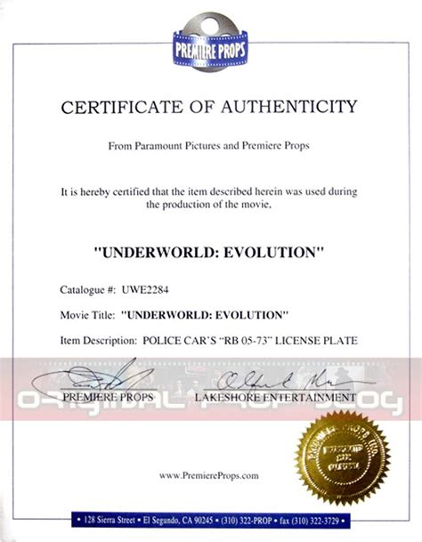 certificate of authorization template certificate authenticity sle image collections