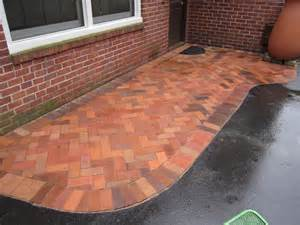 Brick Patio Pavers Brick Pavers Canton Plymouth Northville Novi Michigan Repair Cleaning Sealing