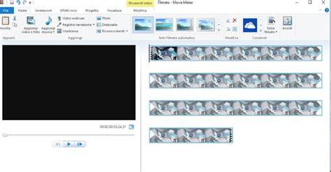 tutorial come usare windows live movie maker come convertire video da caricare su youtube lista formati
