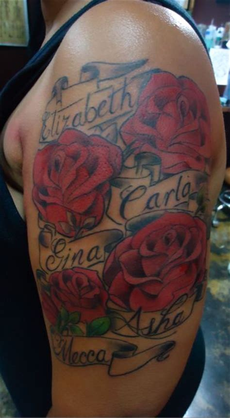 rose tattoo with a name best 25 with name ideas that you will like on