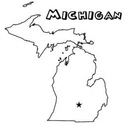 Michigan State Bird Colouring Pages sketch template