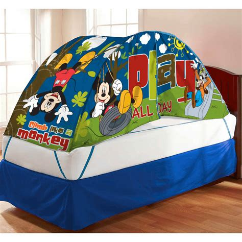 bed tents walmart mickey mouse bed tent with pushlight walmartcom walmart