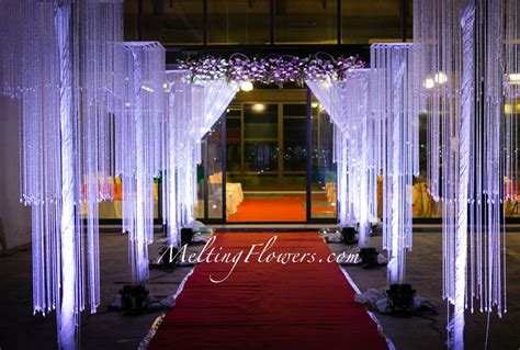 decorating themes ideas for decorating the entrance beautifully wedding