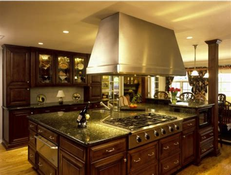 Tuscan Kitchen Islands Alluring Tuscan Kitchen Design Ideas With A Warm