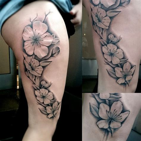 sakura tattoo black and white sleeve tattoo steunk 17 best images about tattoos on pinterest first swallow