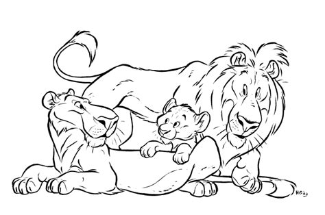 lion coloring pages lion coloring pages realistic kids