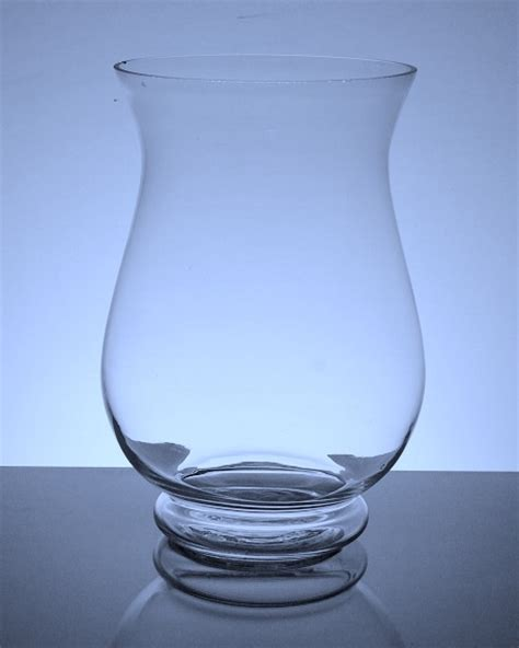 px1 wide hurricane vase 6 quot x 10 quot 6 p c other glass vases