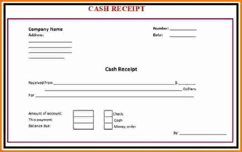receipt template for ad 8 receipt expense report