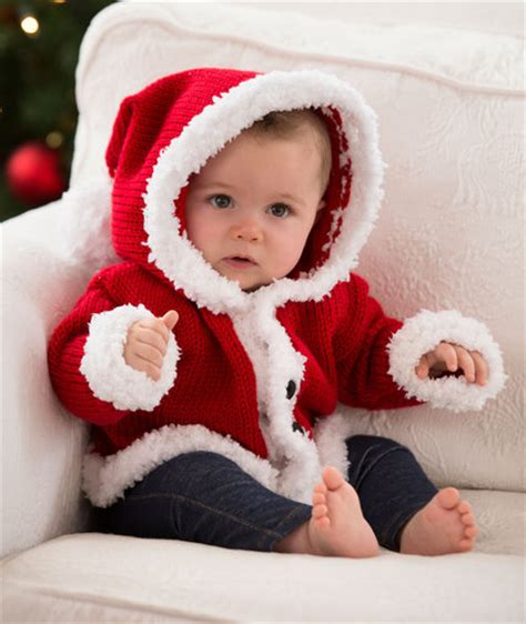 christmas jumper pattern baby santa baby sweater red heart