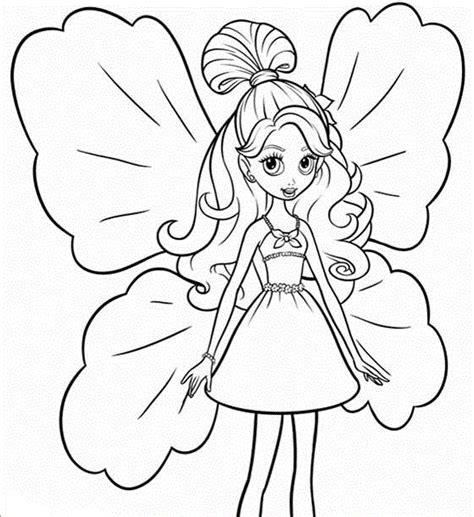 imagenes para pintar muñecas dibujos de barbie para colorear