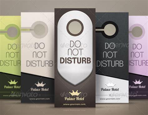 do not disturb door hanger template 12 do not disturb door hangers sle templates