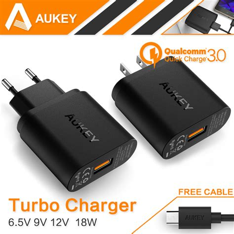 Aukey Charger 18w Pa T9c by Aukey Pa T9 18w Turbo Usb Wall Charger Adapter Qualcomm 3