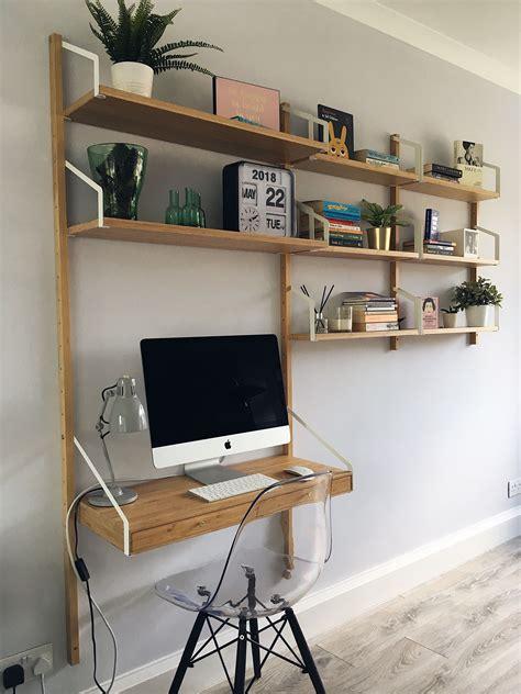 ikea svalnas shelf system  images desk  living