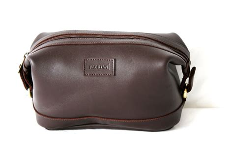 Toiletry Bag Dopp Mens Leather Toiletry Bag Dopp Kit Shave Bag By Anoadesignltd