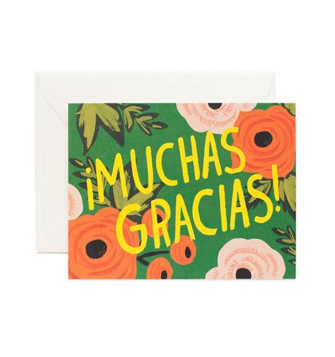 Charming Boxed Christmas Cards Sale #3: Muchas-gracias-thank-you-greeting-card-01_1.jpg