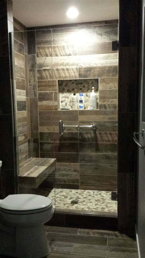 Handmade Bathroom Tiles - 25 best ideas about wood look tile on wood