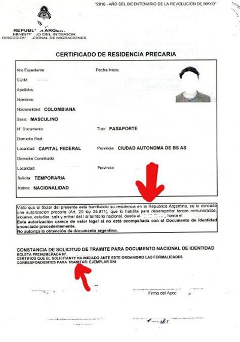 que presentar para cobrar el nacimiento residencia temporaria argentina viajar a argentina hoy