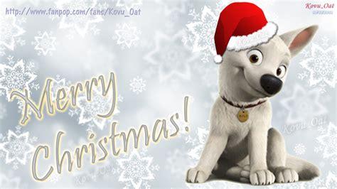 merry christmas disney cute bolt wallpaper hd disneys bolt wallpaper  fanpop