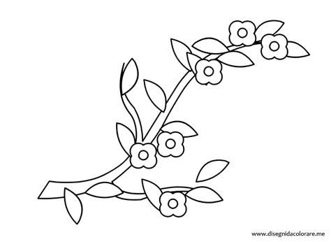 disegni da colorare fiori di primavera disegni di primavera ramo con fiori disegni da colorare