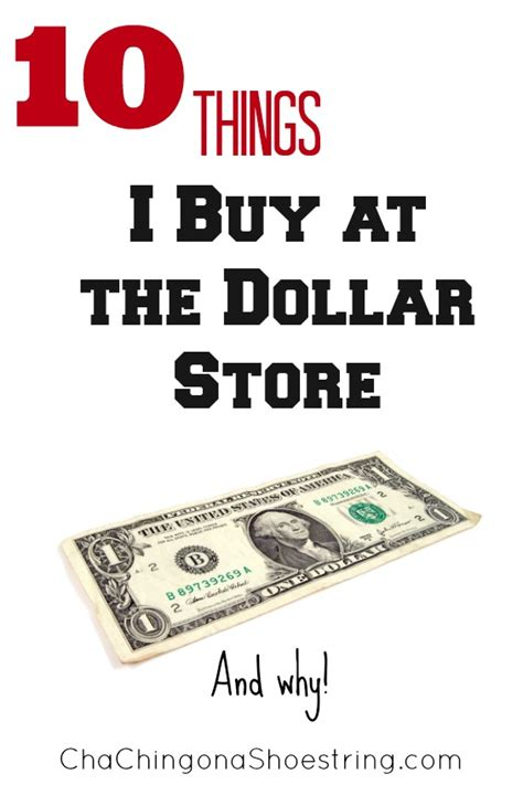 what to buy for what to buy at the dollar store and why
