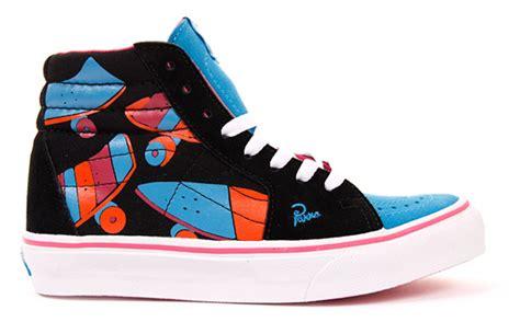 Sepatu Vans Patta parra x vans sneaker collection hypebeast