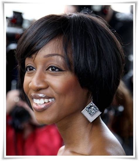 short hairstyles for fat faces age 40 72 short hairstyles for black women with images 2018