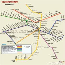 ... Metro Stations Map, paschim vihar east&west metro station map. blue Metro