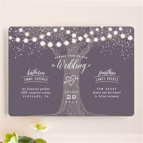 garden lights wedding invitations uk garden lights wedding invitations by hooray creative minted