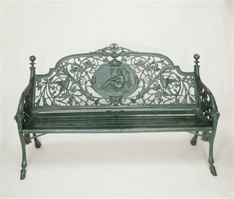 coalbrookdale bench bench coalbrookdale company v a search the collections