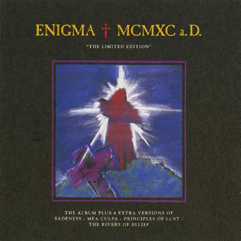 Cd Deluhi Jagannath Limited Edition enigma mcmxc a d quot the limited edition quot cd album at