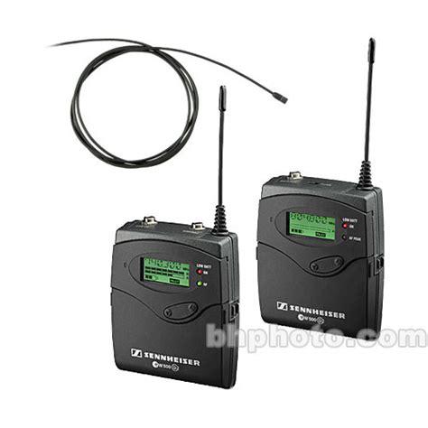 Mic Wireless Sennheiser Evolution Ew 1000 Murah sennheiser g2 500 series uhf lavalier ew512p mke2 ew gold a