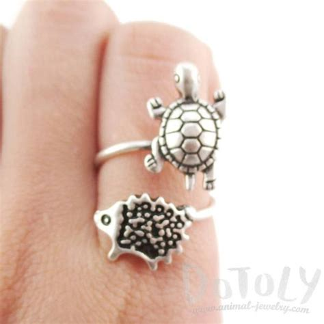 Tortle Adjustable Animal Size S rings dotoly