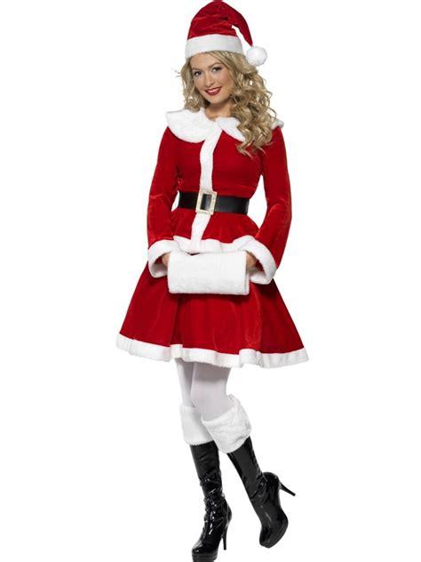 Dress Santa Kidos mrs claus costumes costume