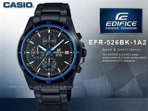 Casio Edifice Efr 526bk 1a1 casio 卡西歐 手錶 專賣店 edifice efr 526bk 1a1 1a2 男錶 賽車錶 casio