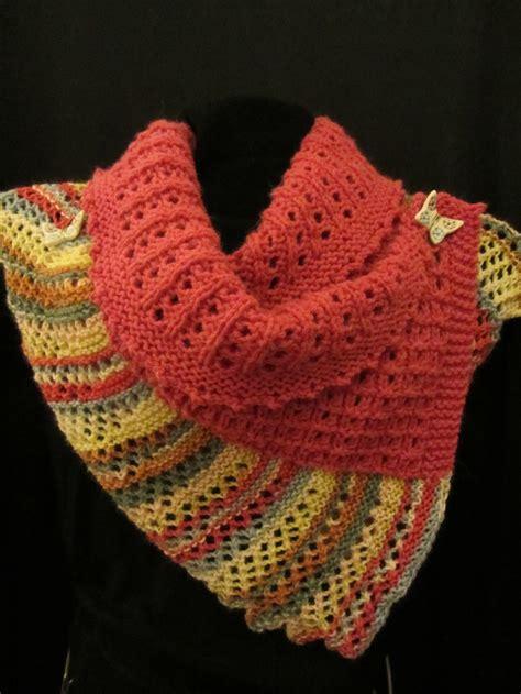 allfree knitting papillon wrap allfreeknitting